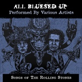 Various Artists - All Blues'd Up: Songs of the Rolling Stones  artwork