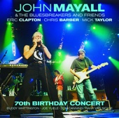 70th Birthday Concert (Live) - John Mayall & The Bluesbreakers Cover Art