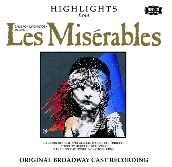 Highlights from Les Misérables Various Artists CD cover