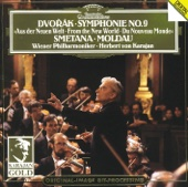 "Dvorák: Symphony No. 9 ""From the New World"" & Smetana: The Moldau - Vienna Philharmonic Orchestra Cover Art"