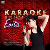 I'd Be Surprisingly Good For You (In the Style of Evita) [Karaoke Version]