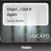 Helen - Oops!...I Did It Again (Sunny Remix) artwork