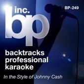 Backtrack Professional Karaoke Band - Karaoke: In the Style of Johnny Cash (Karaoke Version) - EP artwork