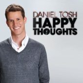 Cover to Daniel Tosh's Happy Thoughts