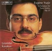Violin Sonata In D Minor, Op. 27, No. 3,