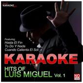 Karaoke - Hits of Luis Miguel, Vol. 1