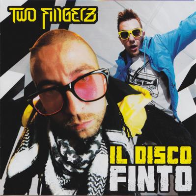 Two Fingerz Il disco finto Album Cover
