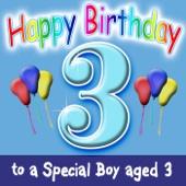 Happy Birthday – Boy Age 3