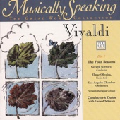 The Four Seasons Vivaldi, Opus VIII, Nos. 1,2,3,4, Musically Speaking