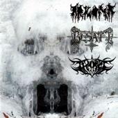 Holokaust Zniewolonych Mas / Diabolus Perfectus / Raise the Blasphemer cover art