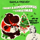 Gayla Peevey - I Want a Hippopotamus for Christmas  artwork