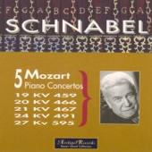 Mozart : 5 Piano Concertos