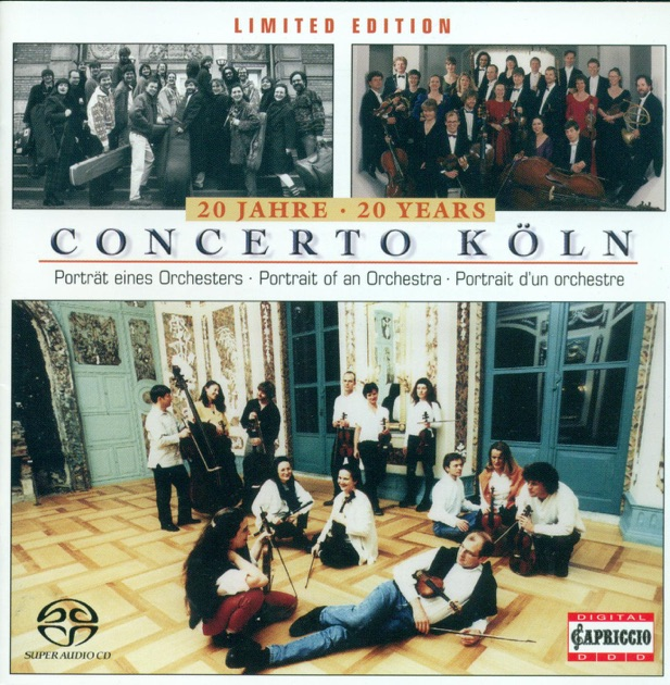 Concerto Koln 20 Years Portrait Of An Orchestra By