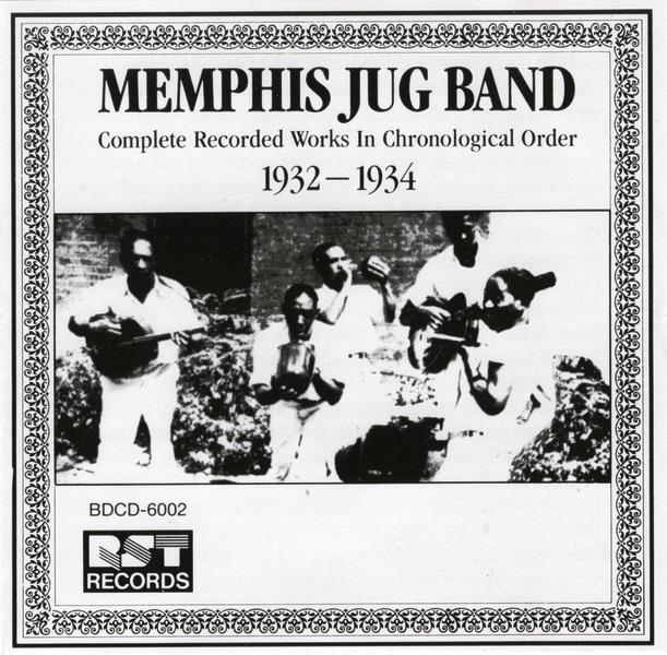 Memphis Jug Band (1932-1934) by Memphis Jug Band