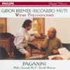 Paganini: Violin Concerto No.4, Suonata Varsavia, Gidon Kremer, Riccardo Muti & Vienna Philharmonic Orchestra