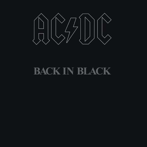 Back In Black Ac Dc: Back In Black Album Cover By AC/DC