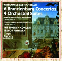 Picture of Bach: Brandenburg Concertos, Orchestral Suites by The English Concert & Trevor Pinnock