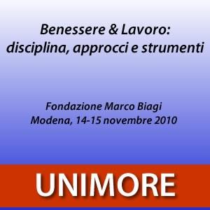 Benessere e Lavoro: disciplina, approcci e strumenti [Video]