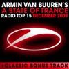 A State of Trance: Radio Top 15 (December 2009), Armin van Buuren