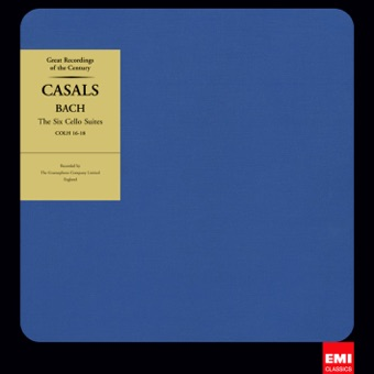 Bach: Cello Suites – Pablo Casals