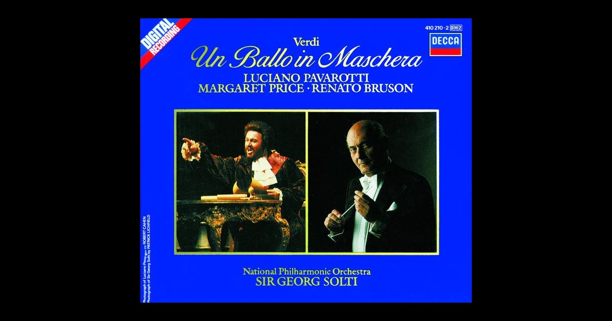 Verdi Georg Solti Conducting Rome Opera House Orchestra And Rome Opera House Chorus Price Vickers Go