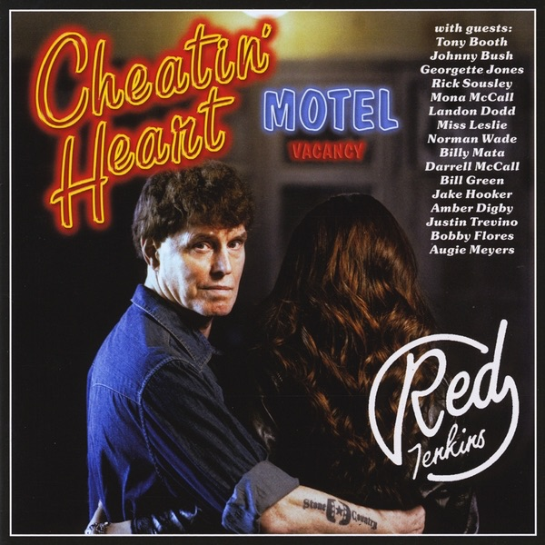 Cheatin Heart Motel Red Jenkins CD cover