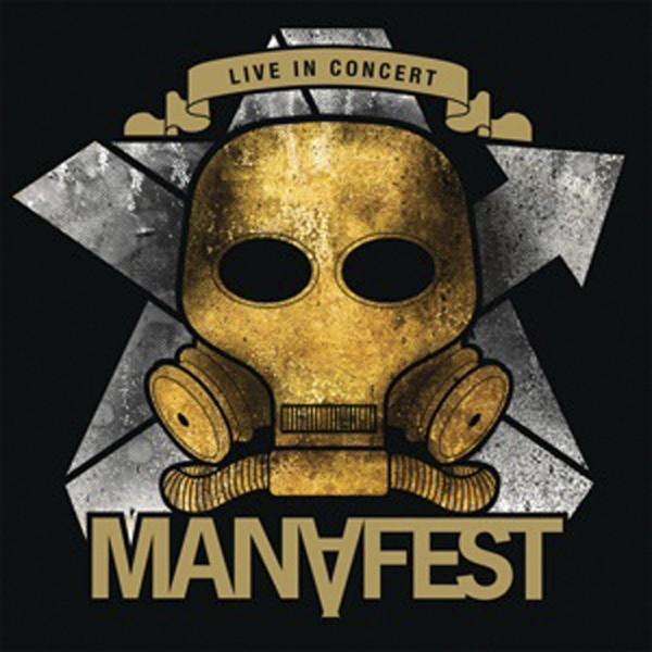 Live In Concert Manafest CD cover