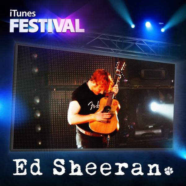 iTunes Festival London 2012 - EP Ed Sheeran CD cover