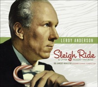 Picture of Leroy Anderson - Sleigh Ride and Other Favorites by Leonard Slatkin & BBC Concert Orchestra