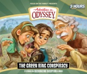 #53: The Green Ring Conspiracy - Adventures in Odyssey Cover Art