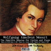 Wolfgang Amadeus Mozart : The Complete Sonatas for Violin and Piano, CD 6  (1957)