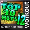 Top 40 Hits Remixed, Vol. 12 (60 Minute Non-Stop Workout Mix) [128 BPM] ジャケット写真