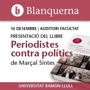 """Presentació del llibre """"Periodistes contra polítics"""""""