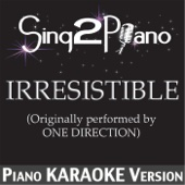 Irresistible (Originally Performed By One Direction) [Piano Karaoke Version]