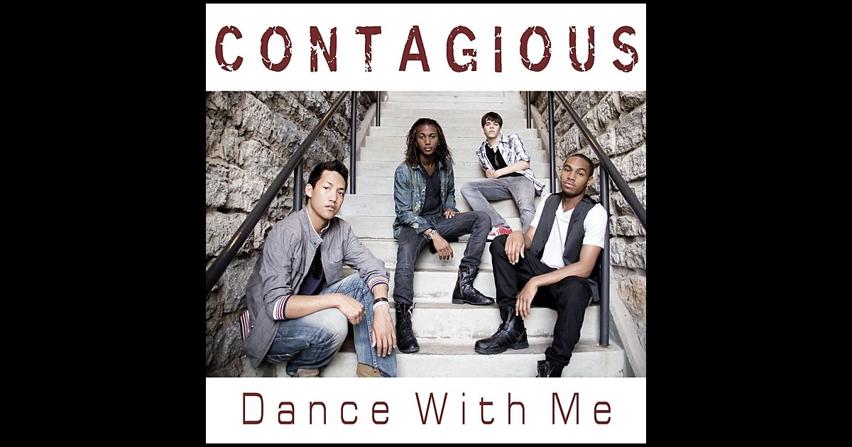 dance with me single by contagious on apple music. Black Bedroom Furniture Sets. Home Design Ideas