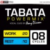 Tabata Powermix (8 Tabata Cycles With Cues + Warm Up and Cool Downs), Power Music Workout