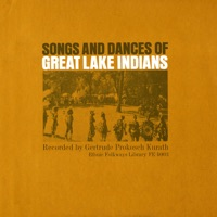 Songs and Dances of the Great Lakes Indians - Various Artists