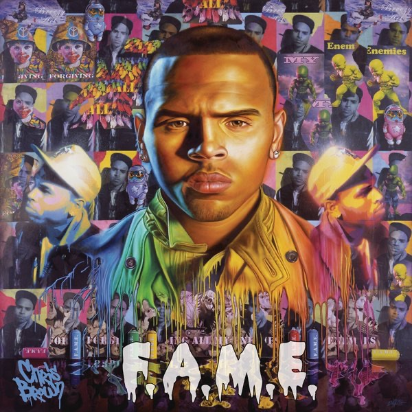 FAME Chris Brown CD cover