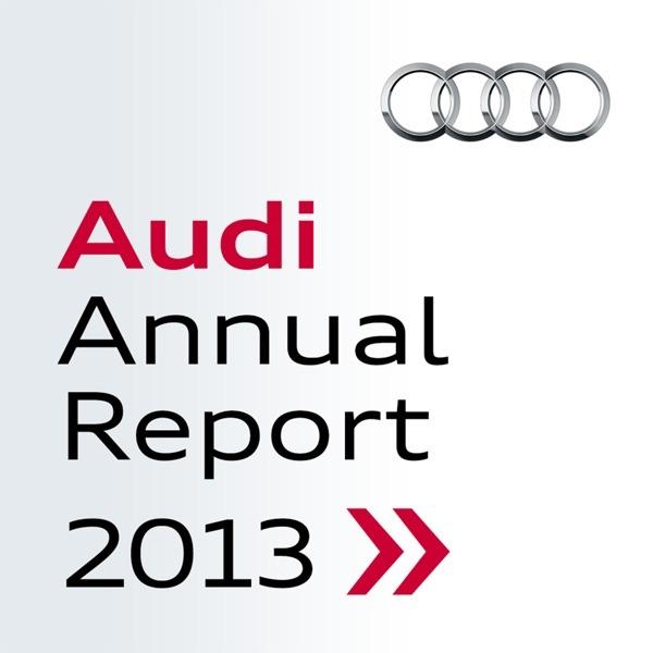 Audi Geschäftsbericht 2013 [Podcast]