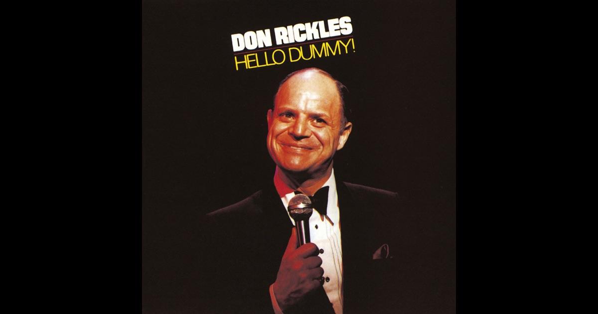 Don Rickles Hello Dummy