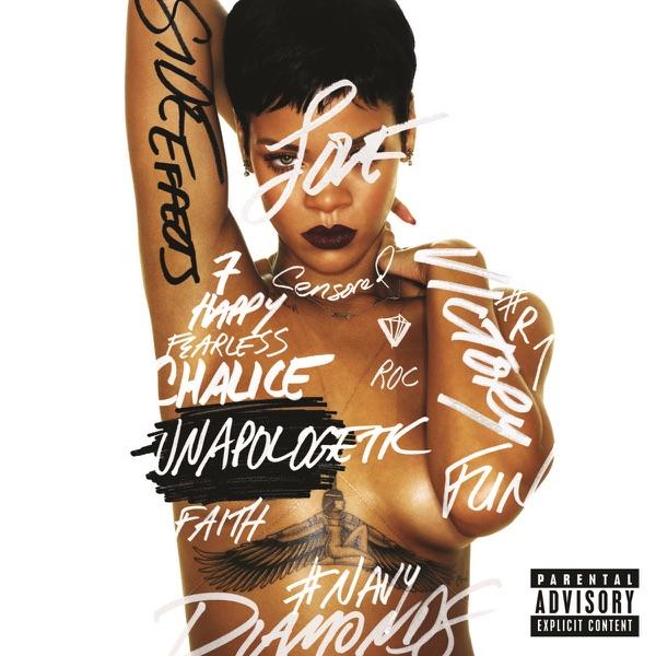 Unapologetic Deluxe Version Rihanna CD cover