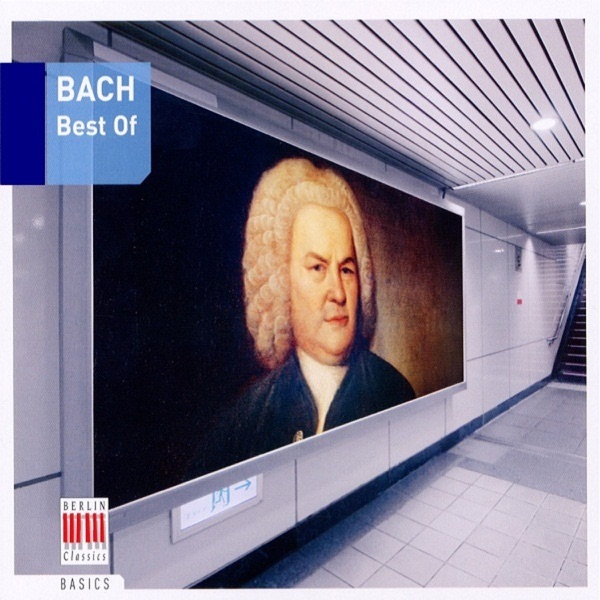 Bach Best of Various Artists CD cover