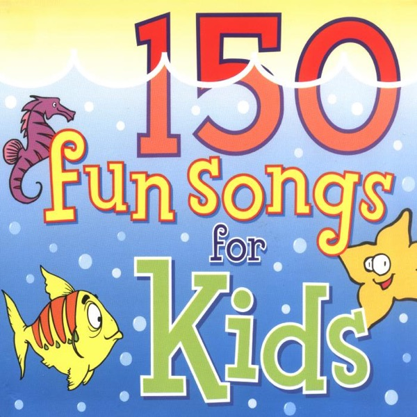 150 Fun Songs for Kids Album Cover by The Countdown Kids