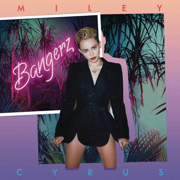 Bangerz Deluxe Version Miley Cyrus CD cover