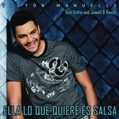Victor Manuelle - Ella Lo Que Quiere Es Salsa (feat. Voltio, Jowell & Randy) ilustración