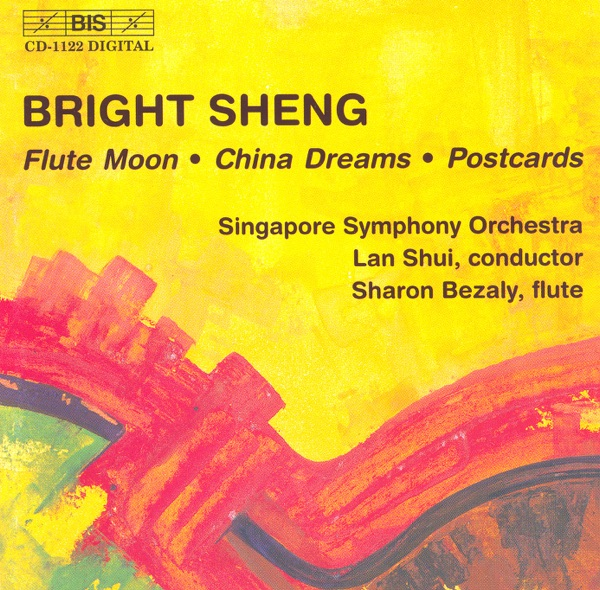 Bright Sheng: Flute Moon - China Dreams - Postcards