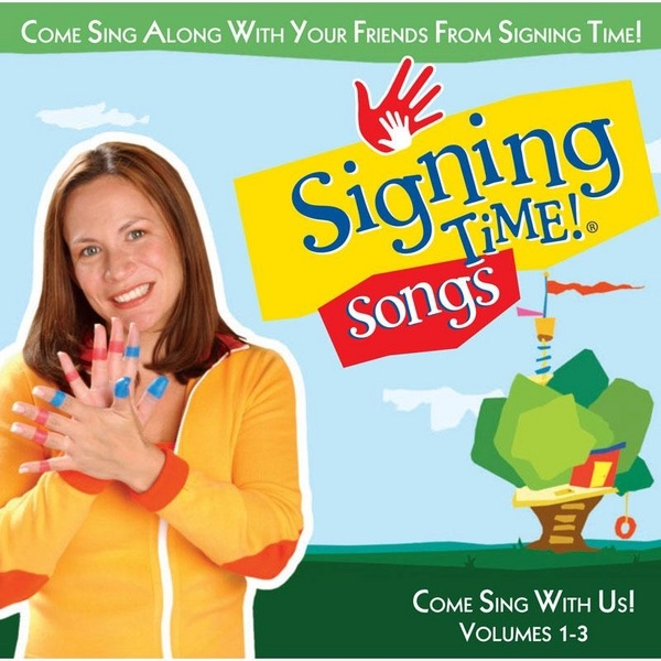 Signing Time Songs Vol 1-3 Various Artists  Signing Time  Rachel Coleman CD cover
