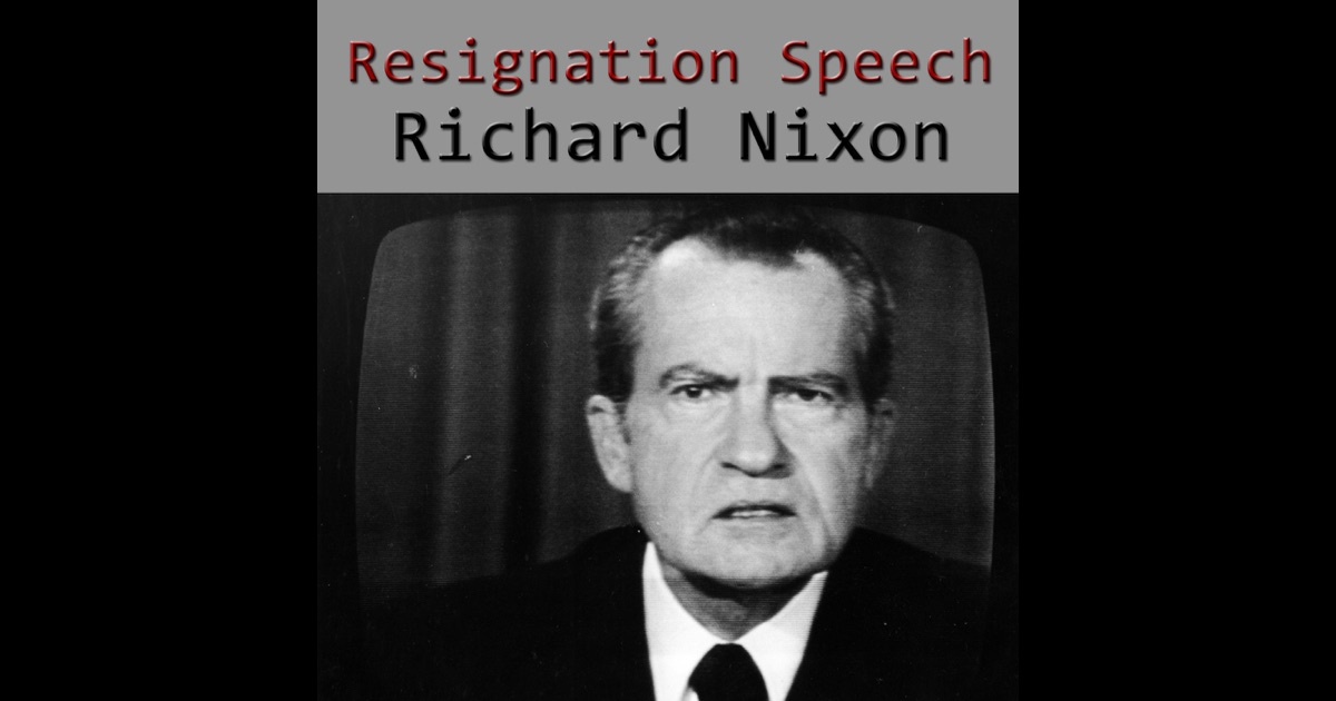 speech analysis of richard nixons first He was also the first and last president to in richard nixons early presidency was he richard nixon was head of the student bar association and.