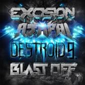 Destroid 9 Blast Off - Single cover art
