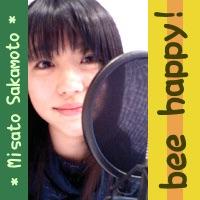 坂本美里のbee happy!